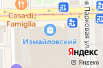 Схема проезда до компании Model shoes в Москве