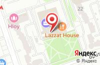 Схема проезда до компании Полет-Инвест в Москве