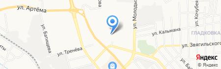 Детский сад №297 на карте Донецка