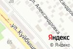 Схема проезда до компании Донбасстеплоэнерго, ГП в Донецке