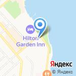 Аркас Раша на карте Новороссийска