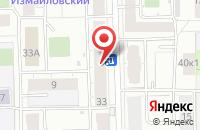 Схема проезда до компании Сержио Котти в Москве