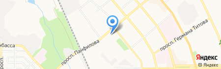 Металл-Трейд Украина на карте Донецка