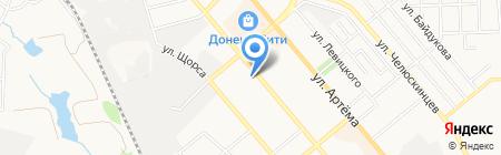 Аптека №78 на карте Донецка