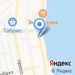 Авиценна на карте Новороссийска