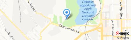 Nemo summer club на карте Донецка