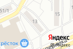 Схема проезда до компании Галлея-Свет в Москве