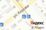 Схема проезда до компании Кирюша в Донецке