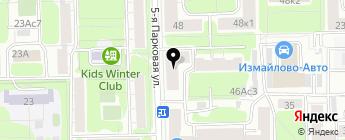 Бик-форд на карте Москвы
