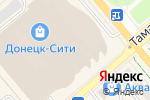 Схема проезда до компании Moreliato в Донецке