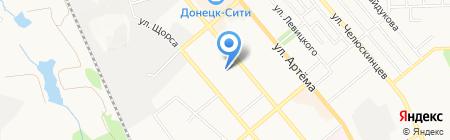 Ателье по пошиву и ремонту одежды на карте Донецка