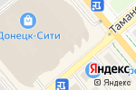 Схема проезда до компании Tally Weijl в Донецке