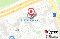 Схема проезда до компании OZON.ru в Балашихе