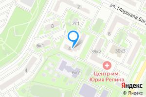 Однокомнатная квартира в Москве ул. Маршала Баграмяна, 4