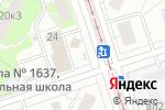Схема проезда до компании Киоск по продаже молочной продукции в Москве