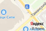 Схема проезда до компании Food House в Донецке