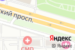 Схема проезда до компании Торговый центр в Москве