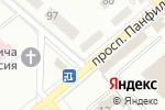 Схема проезда до компании Горячий хлеб в Донецке