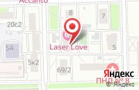 Схема проезда до компании Камерон в Москве