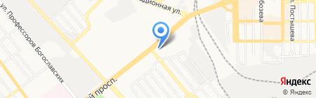 Activebody BTL & PR на карте Донецка