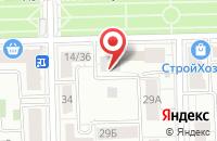 Схема проезда до компании Инвестстрой в Москве