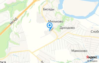 Местоположение на карте пункта техосмотра по адресу Московская обл, Ленинский р-н, с/п Развилковское