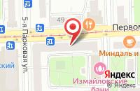 Схема проезда до компании Антикор центр IronCar в Александровке