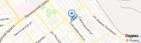Тул-сервис на карте Донецка