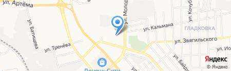 Геопоиск на карте Донецка