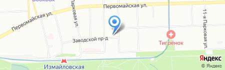 Дейл маркет на карте Москвы