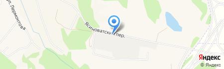 Донецкий шиноремонтный завод на карте Авдеевки