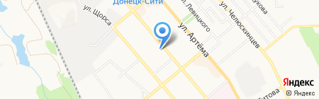 Донецкая общеобразовательная школа-интернат I-III ступеней №10 на карте Донецка