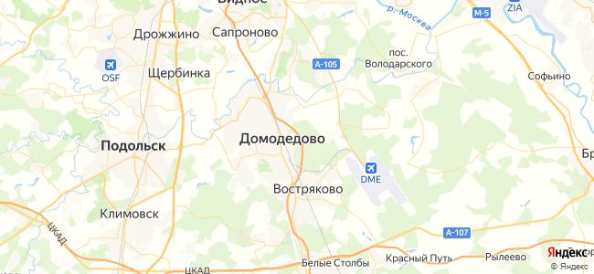 Гостиницы Домодедово - объекты на карте