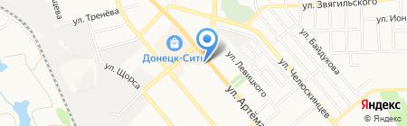 Углекомплекс-2 на карте Донецка
