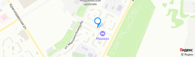 улица Маршала Баграмяна