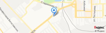 Пилот-1 на карте Донецка