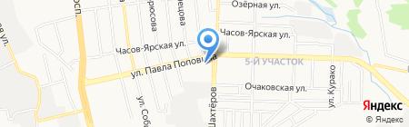 ДонЕвроПродукт на карте Донецка