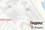 Схема проезда до компании Рыбный двор в Новороссийске