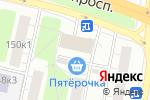 Схема проезда до компании Маленький Мук в Москве