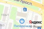 Схема проезда до компании OFFON HAIR в Москве