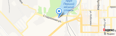 Модники на карте Донецка