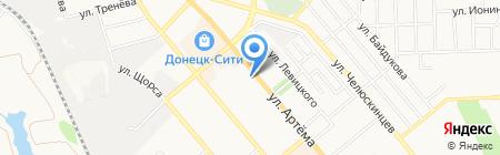 Музыкальная школа №2 на карте Донецка