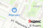Схема проезда до компании Леди Босс в Москве