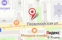 Схема проезда до компании Лайм в Ярославле