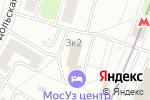 Схема проезда до компании Авиаполет в Москве