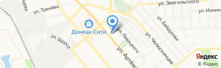 Max Mara на карте Донецка