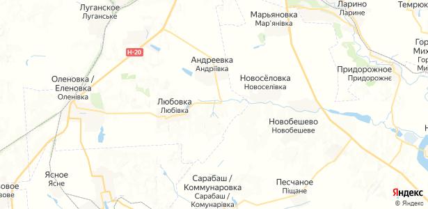 Черновое на карте
