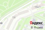 Схема проезда до компании Velopro.su в Москве
