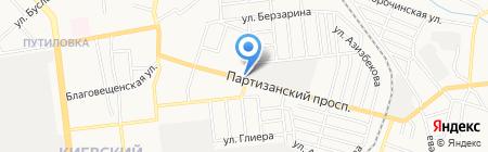 София на карте Донецка