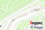 Схема проезда до компании Artist family в Москве